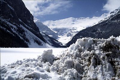 Lake Louise - hyperfocal focusing