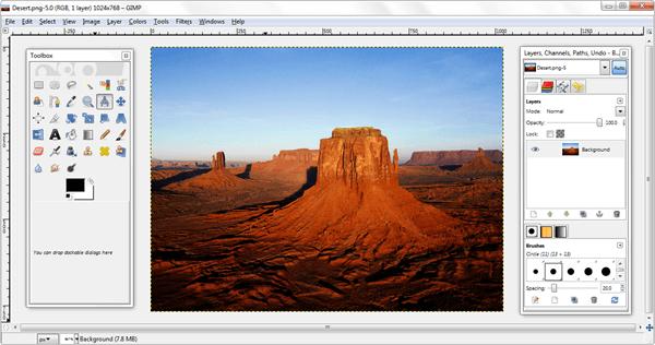 Gimp - Free Photo Editing Software